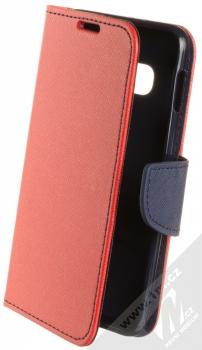 Forcell Fancy Book flipové pouzdro pro Samsung Galaxy S10e červená modrá (red blue)