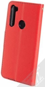 Forcell Fancy Book flipové pouzdro pro Xiaomi Redmi Note 8 červená modrá (red blue) zezadu