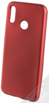Forcell Jelly Matt Case TPU ochranný silikonový kryt pro Huawei P20 Lite červená (red)