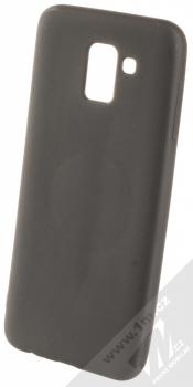 Forcell Soft Magnet Case TPU ochranný kryt podporující magnetické držáky pro Samsung Galaxy J6 (2018) černá (black)