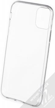 Forcell Ultra-thin 0.5 tenký gelový kryt pro Apple iPhone 11 průhledná (transparent) zepředu