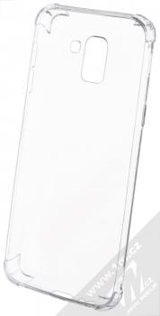 Forcell Ultra-thin Anti-Shock 0.5 odolný gelový kryt pro Samsung Galaxy J6 (2018) průhledná (transparent) zepředu