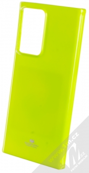 Goospery Jelly Case TPU ochranný kryt pro Samsung Galaxy Note 20 Ultra limetkově zelená (lime green)