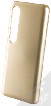 Goospery Jelly Case TPU ochranný silikonový kryt pro Xiaomi Mi 10, Mi 10 Pro zlatá (gold)