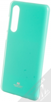 Goospery Jelly Case TPU ochranný silikonový kryt pro Huawei P30 mátově zelená (mint green)