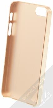 Guess Metallic Hard Case ochranný kryt pro Apple iPhone 5, iPhone 5S, iPhone SE (GUHCPSEMEGO) zlatá (gold) zepředu