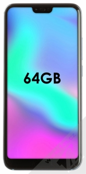 HONOR 10 64GB šedá (glacier grey) zepředu