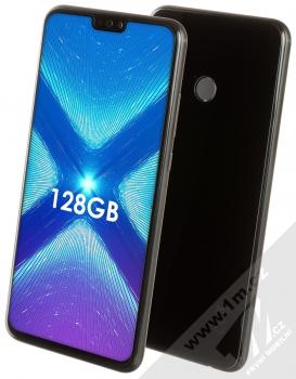 Honor 8X 4GB/128GB + BLUETOOTH STEREO SLUCHÁTKA SETTY v ceně 890KČ ZDARMA černá (black)