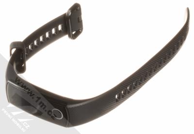 Honor Band 4 Crius chytrý fitness náramek se senzorem srdečního tepu černá (meteorite black) rozepnuté