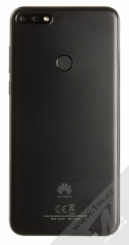 HUAWEI Y7 Prime (2018) černá (black) zezadu