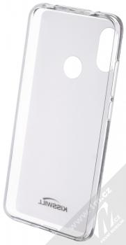 Kisswill TPU Open Face silikonové pouzdro pro Xiaomi Mi A2 Lite bílá průhledná (white) zepředu
