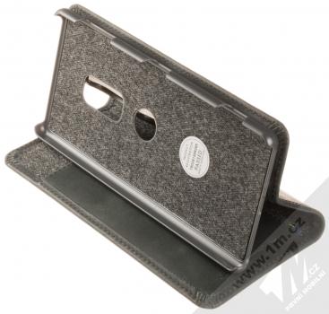 Krusell Sunne FolioWallet flipové pouzdro pro Sony Xperia XZ2 černá (vintage black) stojánek