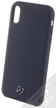 Mercedes Silicone ochranný kryt pro Apple iPhone XR (MEHCI61SILNA) tmavě modrá (navy blue)