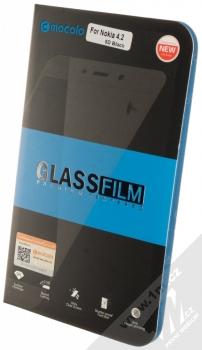 Mocolo Premium 5D Tempered Glass ochranné tvrzené sklo na kompletní displej pro Nokia 4.2 černá (black) krabička