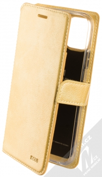 Molan Cano Issue Diary flipové pouzdro pro Apple iPhone 11 zlatá (gold)