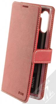 Molan Cano Issue Diary flipové pouzdro pro Samsung Galaxy Note 10 červená (red)