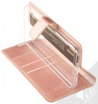 Molan Cano Issue Diary flipové pouzdro pro Xiaomi Mi A3 růžově zlatá (rose gold) stojánek