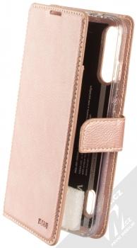 Molan Cano Issue Diary flipové pouzdro pro Xiaomi Mi A3 růžově zlatá (rose gold)