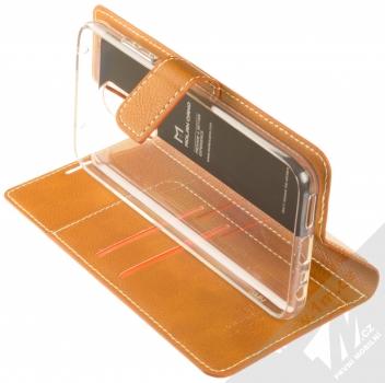 Molan Cano Issue Diary flipové pouzdro pro Xiaomi Redmi 8 hnědá (brown) stojánek