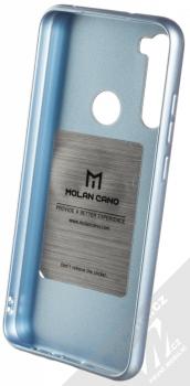 Molan Cano Jelly Case TPU ochranný kryt pro Xiaomi Redmi Note 8T blankytně modrá (sky blue) zepředu