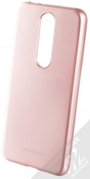 Molan Cano Jelly Case TPU ochranný kryt pro Nokia 5.1 Plus růžově zlatá (rose gold)