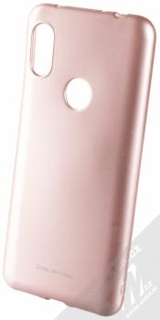 Molan Cano Jelly Case TPU ochranný kryt pro Xiaomi Redmi Note 6 Pro růžově zlatá (rose gold)