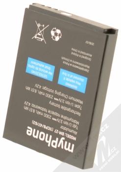MyPhone BM-27 originální baterie pro MyPhone Hammer Iron 2 vzhůru nohama