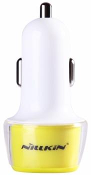 Nillkin Jelly barevná nabíječka do auta s 2x USB výstupem a 3,4A proudem