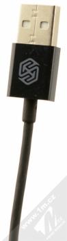 Nillkin Rapid Cable USB kabel s Apple Lightning konektorem pro Apple iPhone, iPad, iPod (licence MFi) černá (black) USB konektor