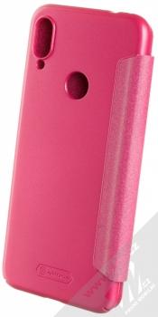 Nillkin Sparkle flipové pouzdro pro Xiaomi Redmi Note 7 růžová (rose red) zezadu