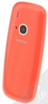 NOKIA 3310 (2017) červená (warm red) šikmo zezadu