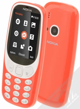 NOKIA 3310 (2017) červená (warm red)
