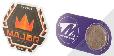 Samolepka Major Faceit Londýn 2018 logo turnaje 1 měřítko