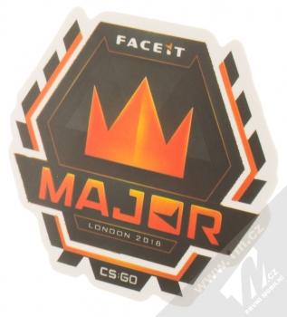 Samolepka Major Faceit Londýn 2018 logo turnaje 1