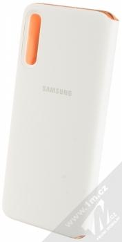 Samsung EF-WA705PW Wallet Cover originální flipové pouzdro pro Samsung Galaxy A70 bílá (white) zezadu