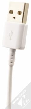 Samsung EP-TA20EWE originální nabíječka Adaptive Fast Charging s USB výstupem 9V/1,67A + Samsung EP-DN930CWE originální USB kabel s USB Type-C konekto bílá (white) USB konektor