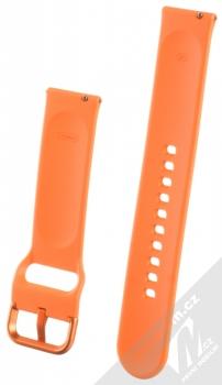 Samsung ET-SFR50MO Sport Band pásek na zápěstí pro Samsung Galaxy Watch Active oranžová (orange) zezadu