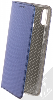 Sligo Smart Magnet flipové pouzdro pro Honor 8X tmavě modrá (dark blue)