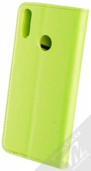 Sligo Smart Magnet flipové pouzdro pro Huawei Y7 (2019) limetkově zelená (lime green) zezadu