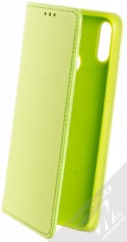 Sligo Smart Magnet flipové pouzdro pro Huawei Y7 (2019) limetkově zelená (lime green)