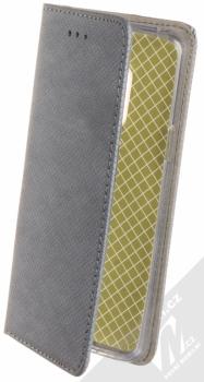 Sligo Smart Magnet flipové pouzdro pro Samsung Galaxy S9 kovově šedá (steel)