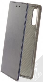 Sligo Smart Magnetic flipové pouzdro pro Samsung Galaxy A70 tmavě modrá (dark blue)
