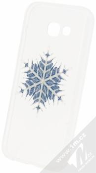 Sligo Trendy Snowflake TPU ochranný kryt s motivem pro Samsung Galaxy A5 (2017) průhledná (transparent)