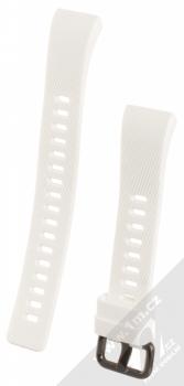 Tactical Diagonal Lines Strap silikonový pásek na zápěstí pro Huawei Band 4 Pro bílá (white)