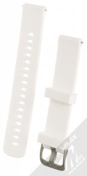 Tactical Diamond Color Strap silikonový pásek na zápěstí s univerzální osičkou 18mm bílá (white)