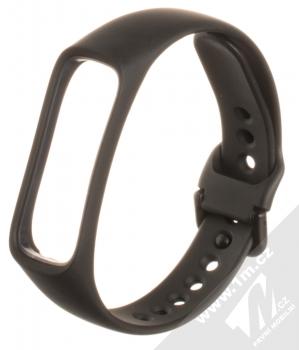 Tactical Single Color Strap silikonový pásek na zápěstí pro Samsung Galaxy Fit e černá (black)