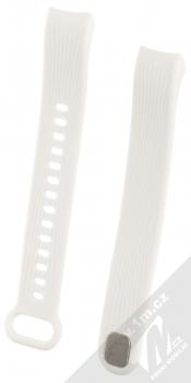 Tactical Vertical Lines Strap silikonový pásek na zápěstí pro Honor Band 3 bílá (white)