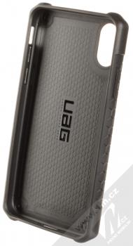 UAG Monarch odolný ochranný kryt pro Apple iPhone XR černá (all black) zepředu