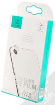 USAMS Camera Lens Glass Film ochranné tvrzené sklo na čočku fotoaparátu Apple iPhone XR krabička