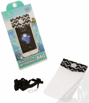 USAMS US-YD008 Waterproof Bag vodotěsné pouzdro pro mobilní telefon, mobil, smartphone do 6,0 balení